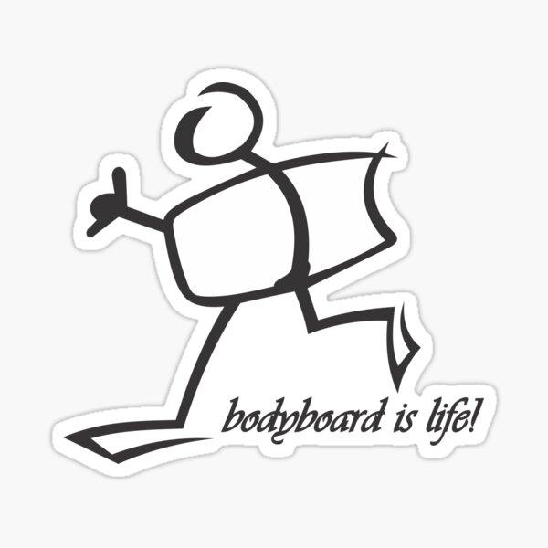 Camiseta Bodyboard Life Pegatina