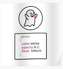 Css ghost Poster