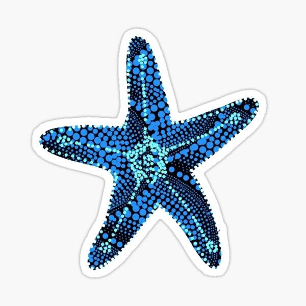 Seashell Many Dots Sticker