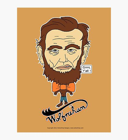 Wolfraham Lincoln Photographic Print