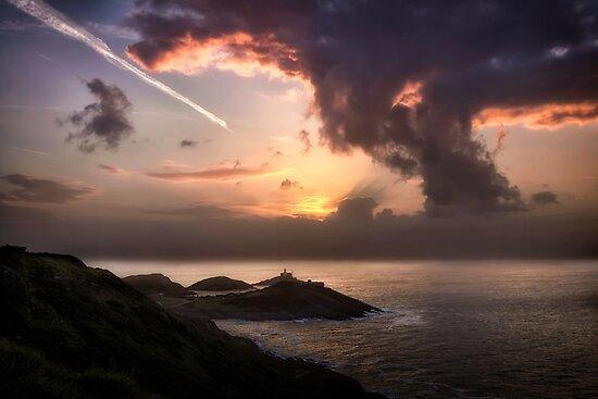 Pilz Wolken Sonnenaufgang von Leighton Collins