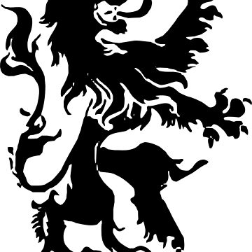 Lion T-Shirt by claudiorrb