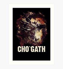 League of Legends - CHO`GATH Art Print
