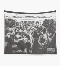 Kendrick Lamar - Wide Alternate To Pimp A Butterfly Album Art (HD/HighQuality) Wall Tapestry