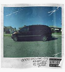 Kendrick Lamar - Good Kid m.A.A.d City Album Cover Art (HD/HighQuality) Poster
