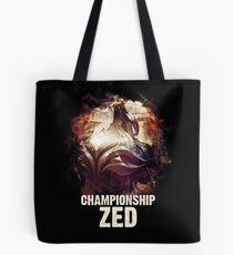 League of Legends - CHAMPIONSHIP ZED Tote Bag