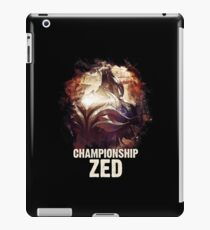 League of Legends - CHAMPIONSHIP ZED iPad Case/Skin