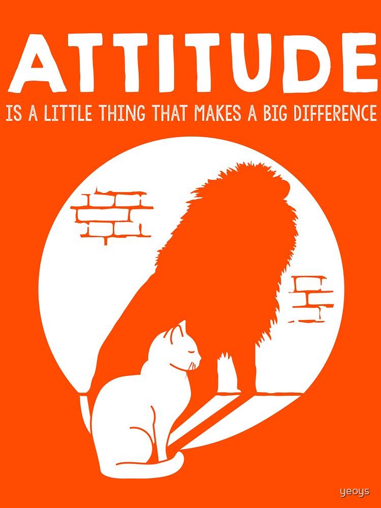Attitude Cat > Lion Motivational Animals by yeoys