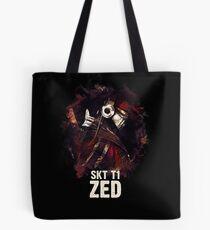 League of Legends SKT T1 ZED Tote Bag