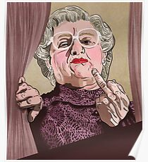 Mrs Doubtfire - Illustration - Robin Williams - Film - Funny Poster