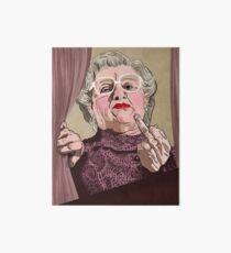 Mrs Doubtfire - Illustration - Robin Williams - Film - Funny Art Board