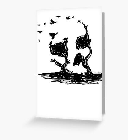 Carrion Crew Greeting Card