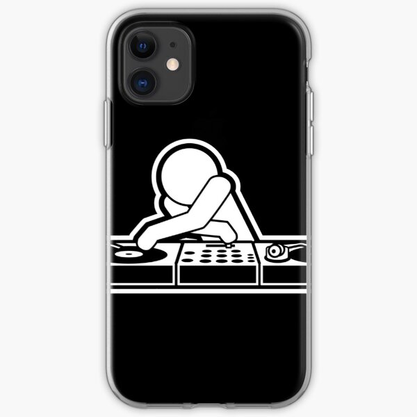 DJ Disco Music Party  iPhone Soft Case