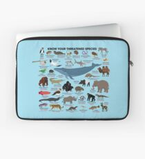 Know Your Threatened Species Laptop Sleeve