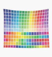 Abstract Color Chart Palette Guide Wall Tapestry