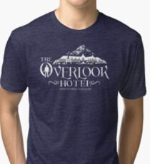 The Shining - Overlook Hotel The Blackest Hour Tri-blend T-Shirt