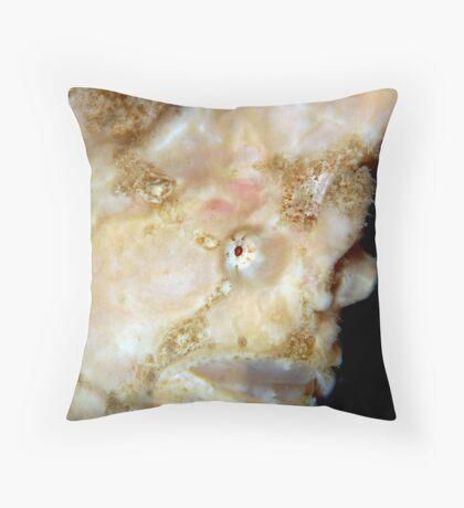 Giant Frogfish Throw Pillow