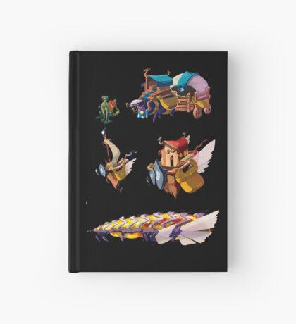Float island Cuaderno de tapa dura