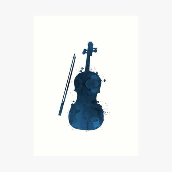 A violin Art Print