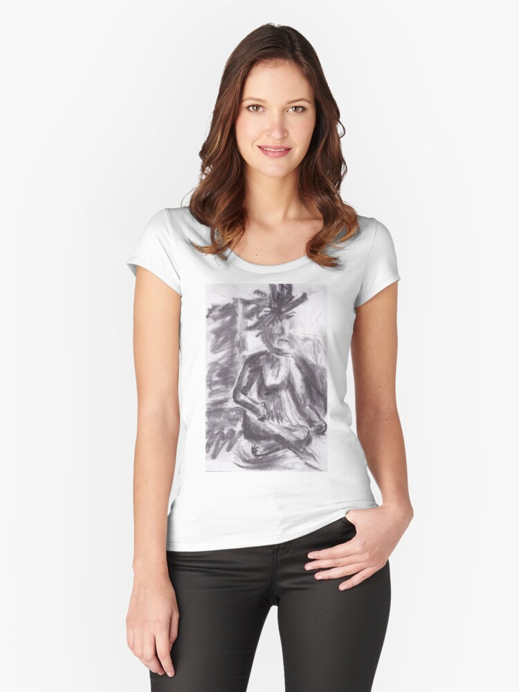 Essentia Women's Fitted Scoop T-Shirt Front