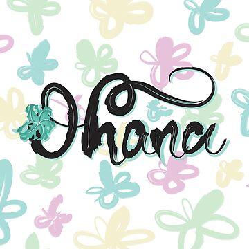 Flowers & Ohana  by cheekymare
