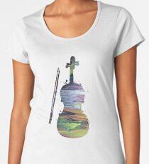 A violin Women's Premium T-Shirt