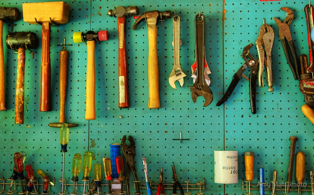 Pop's Tools by Amy Matsumoto
