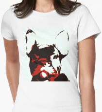 French Bull Pup Abstract  T-Shirt