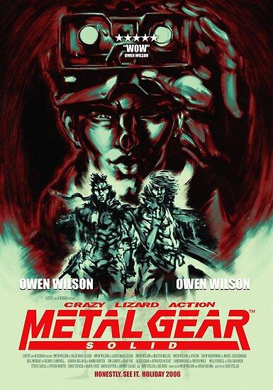 Metal Gear Owen Wilson by CatFatNG