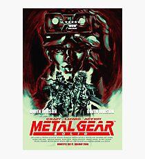 Metal Gear Owen Wilson Photographic Print