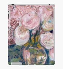 Vinilo o funda para iPad Rosas en el cofre de mamá grande