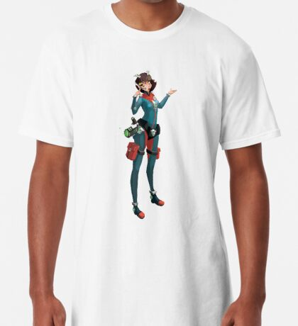 Girl warrior Camiseta larga