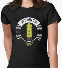 Tower of Pimps Women's Fitted T-Shirt