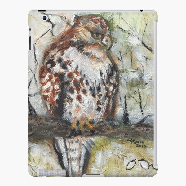 Young Red-tailed Hawk, Perched iPad Snap Case