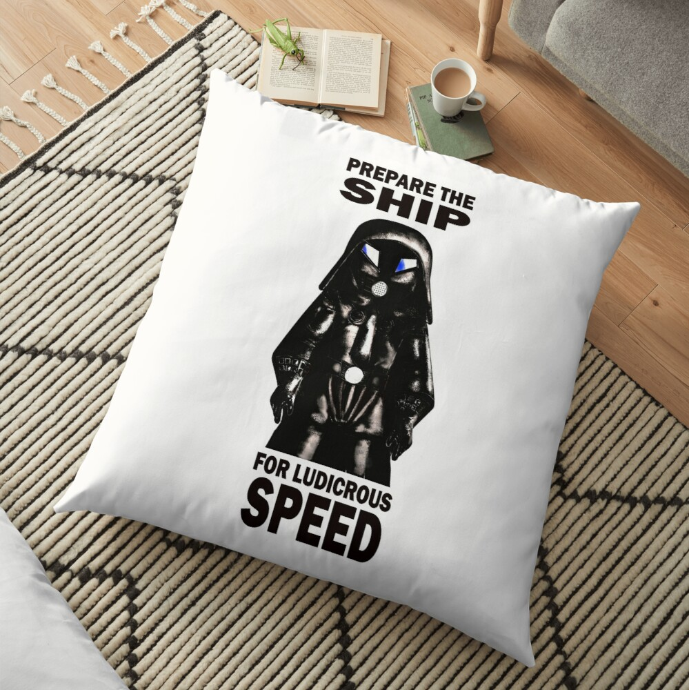 spaceballs Floor Pillow