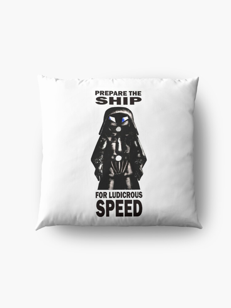 Alternate view of spaceballs Floor Pillow