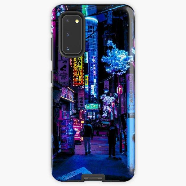 Blue Tokyo Alleys Samsung Galaxy Tough Case