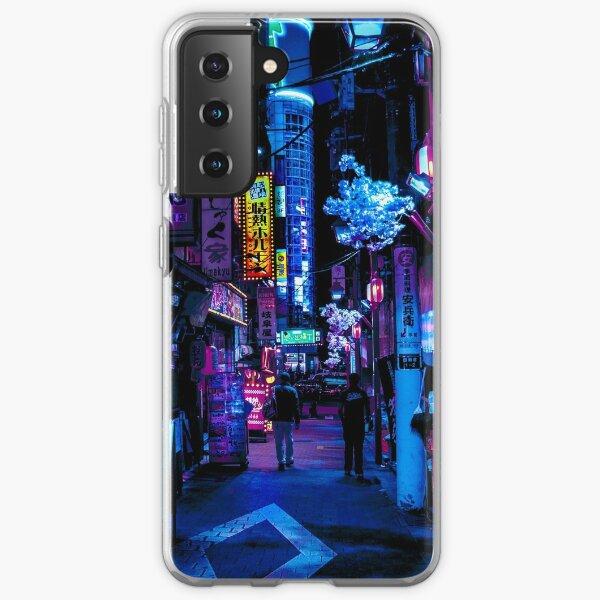 Blue Tokyo Alleys Samsung Galaxy Soft Case