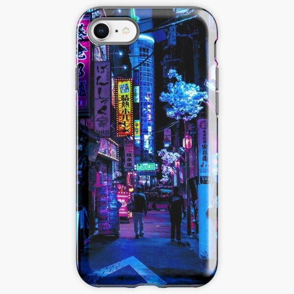 Blue Tokyo Alleys iPhone Tough Case
