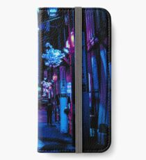 Blade Runner Vibes iPhone Flip-Case/Hülle/Skin