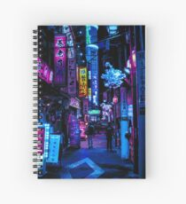 Blade Runner Vibes Spiral Notebook