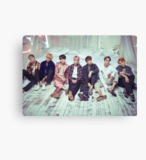 BTS Wings ComeBack v2 Canvas Print
