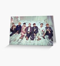 BTS Wings ComeBack v2 Greeting Card