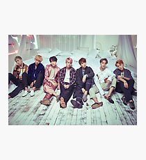 BTS Wings ComeBack v2 Photographic Print