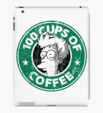 100 Cups Coffee For You iPad Case/Skin