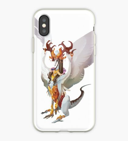 Princess dragon Vinilo o funda para iPhone