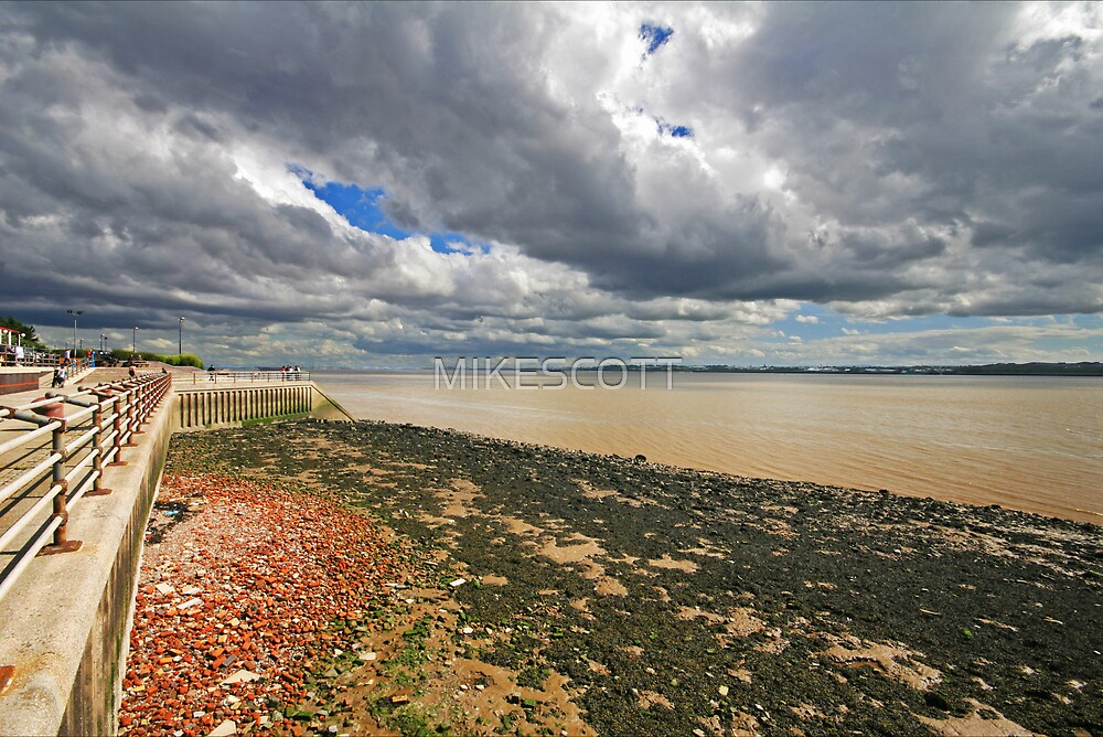 RIVER MERSEY by MIKESCOTT