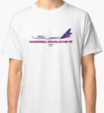 McDonnell Douglas MD-11F - FedEx  Classic T-Shirt
