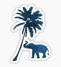 Palm and elephant Sticker
