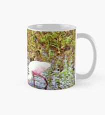 Spoonbill and ducks Mug